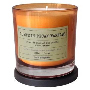 CoCo Benjamin Pumpkin Pecan Waffles Soy Candle