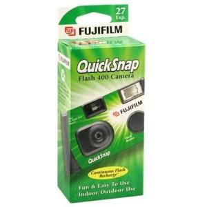 stocking stuffer ideas - Fujifilm QuickSnap Flash 400 Disposable 35mm Camera