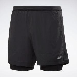 Reebok Running Essentials Two-in-One Running Shorts
