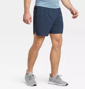 "All in Motion Men's 5"" Lined Run Shorts, best running shorts"