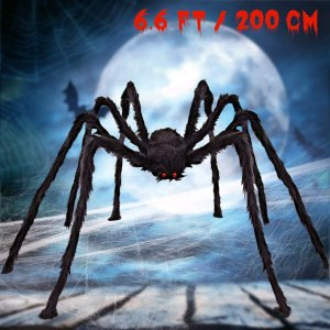 scary halloween spider decoration, scary halloween decorations