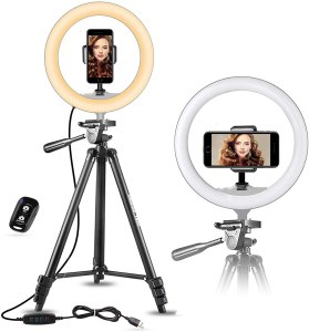 "UBeesize 10"" Selfie Ring Light"