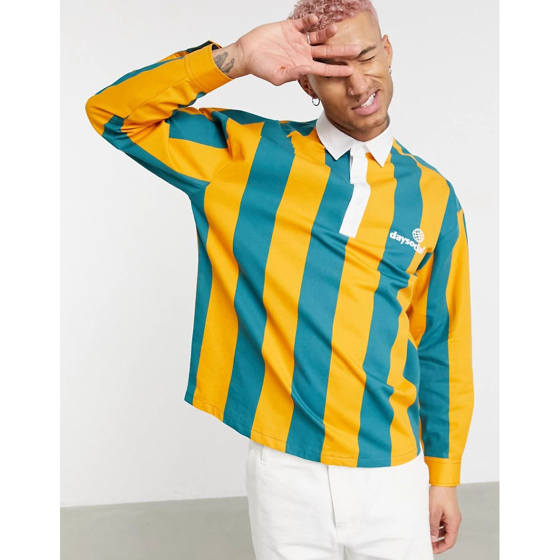 ASOS Daysocial Rugby Overhead Shirt