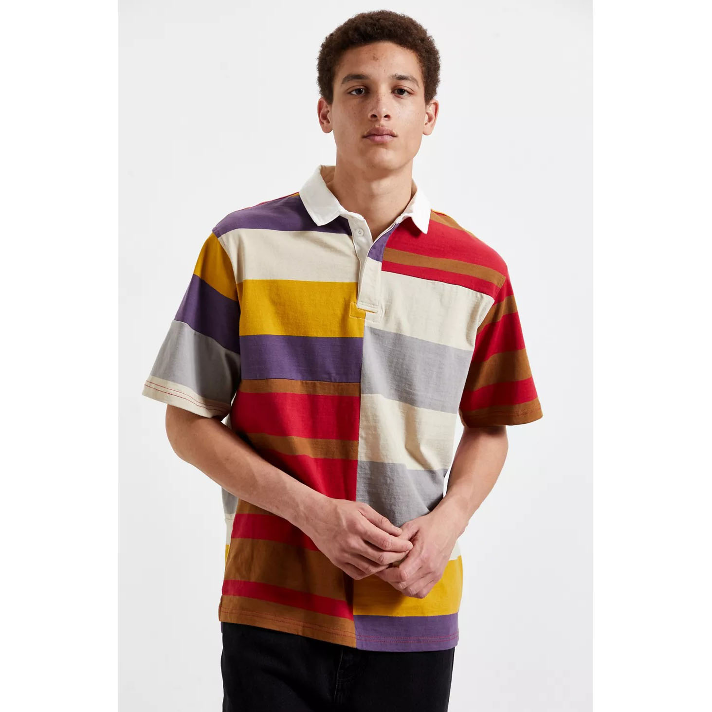 UO Spliced Rugby Shirt
