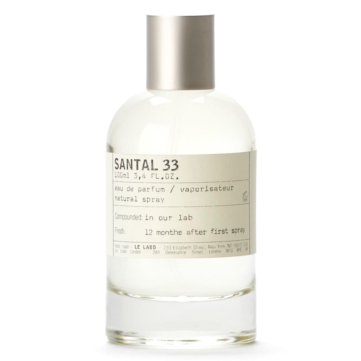 Le Labo Santal 33 Eau de Parfum, best cologne for men