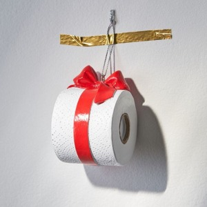 Toilet Paper Christmas Ornament