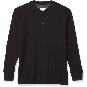 Wrangler Short Sleeve Plaid Woven Shirt for men (in black color)