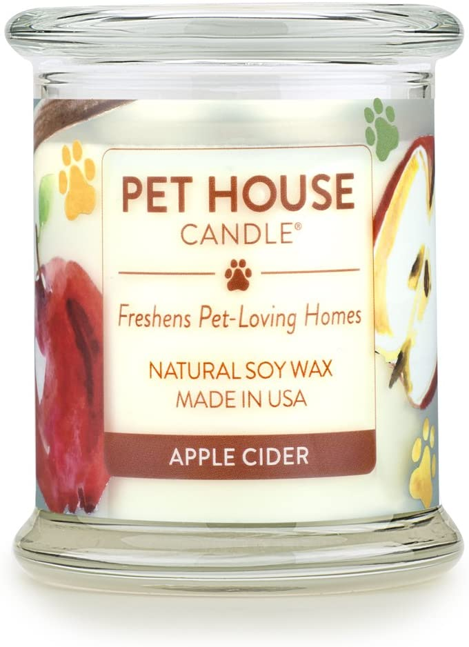 candle for pet odor