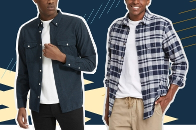 Two Men in Flannels