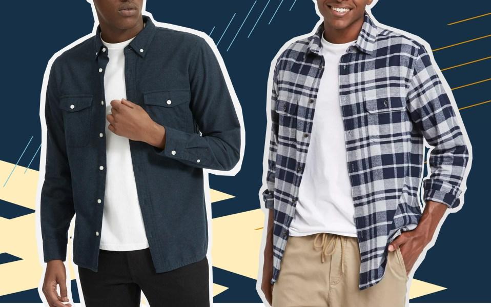 Two Men in Flannels