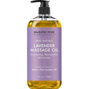 Majestic Pure Lavender Massage Oil, best massage oil