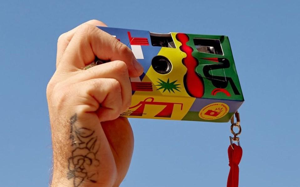 EEEEEEEEEE Artist Series Disposable Camera