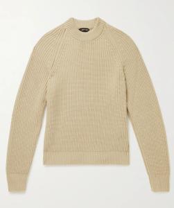 best turtleneck sweater - Tom Ford Ribbed Cashmere Mock-Neck Sweater