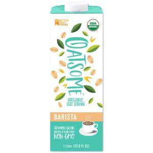 Oatsome Organic Oat Drink, best oat milk