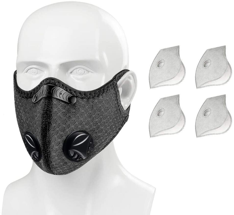 Wechi Face Mask with 4 Filters