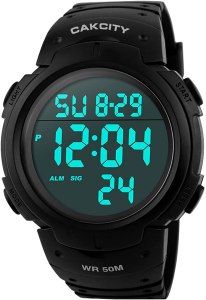 Cakcity Mens Digital Sports Watch