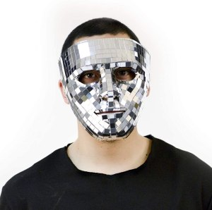 Charades Mirror Face Mask