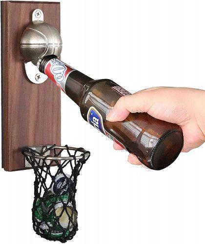 magnetic wall mounted beer opener