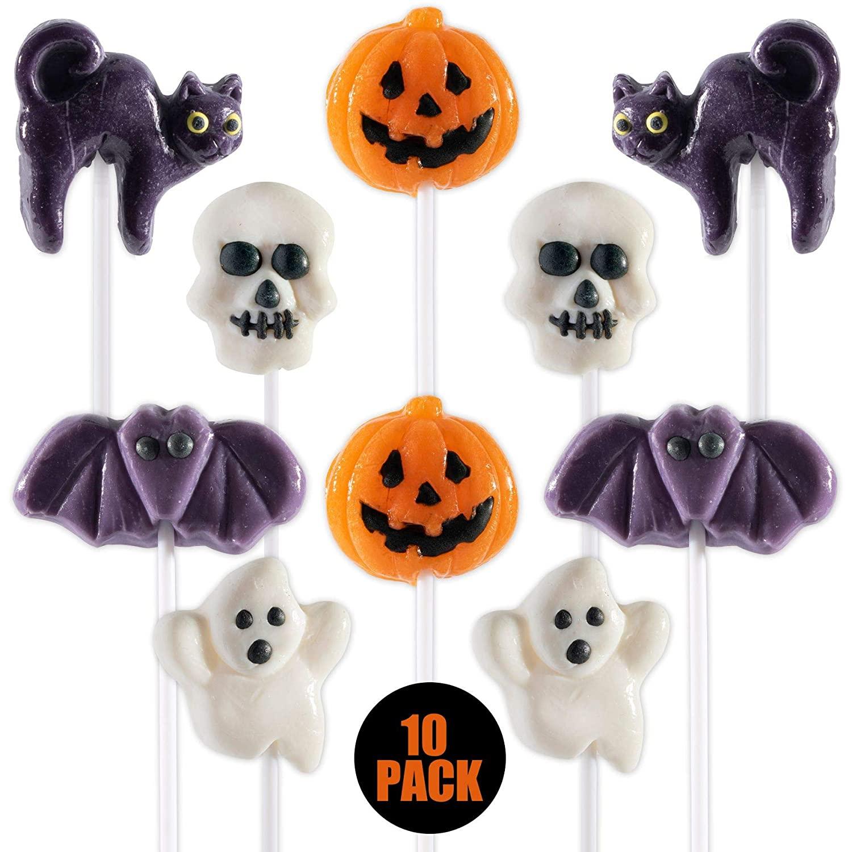 Halloween-Themed Lollipops