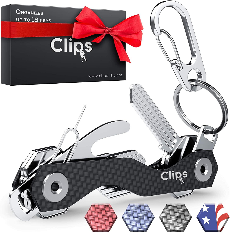 Clips Key Holder Keychain