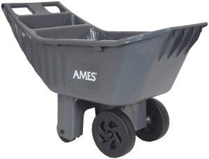 best wheelbarrow ames easy roller poly