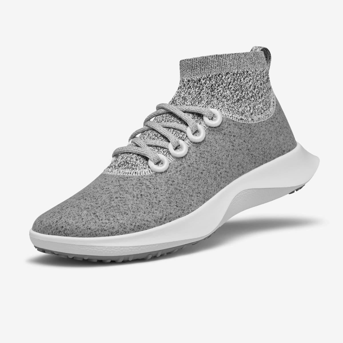 Allbirds Wool Dasher Mizzles Mid Weather Resistant Sneaker; best waterproof sneakers