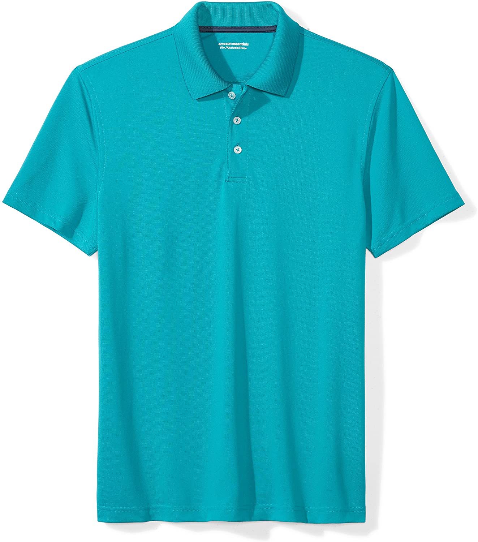Amazon Essentials Men's Slim Fit Quick Dry Golf Polo Shirt