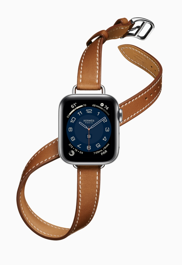 Apple Watch Series 6 Hermes Double Tour Band