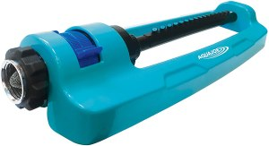 Aqua Joe Indestructible Metal Base Oscillating Sprinkler