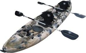 fishing kayaks bkc tk219 tandem