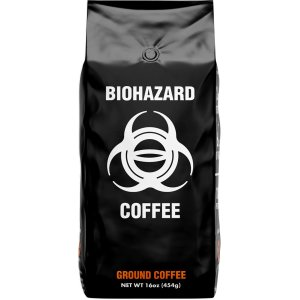 strongest coffee in the world biohazard ground coffee