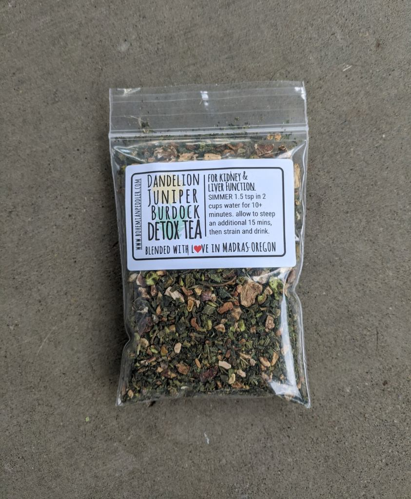 Bohemian Tea Peddler Detox Tea