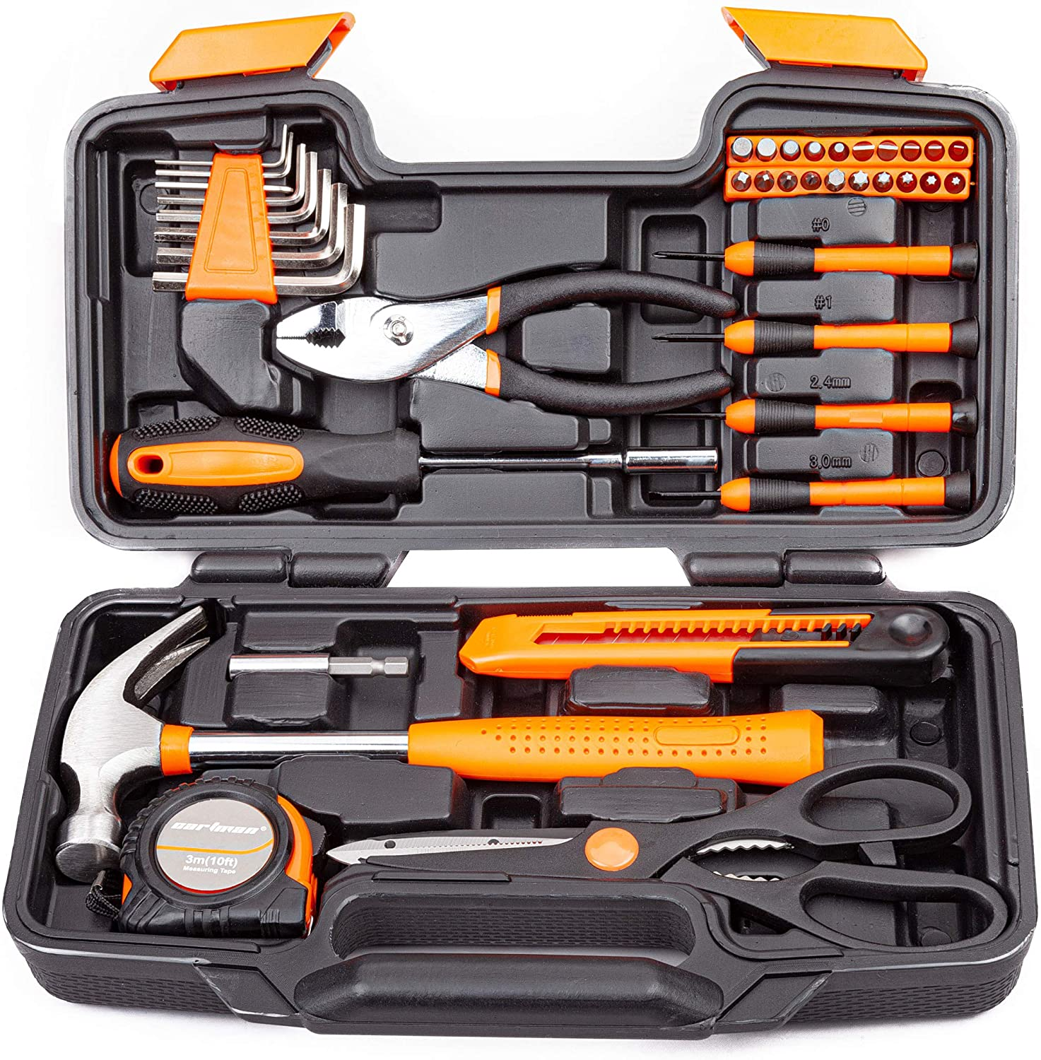 Cartman Orange 39-piece tool set