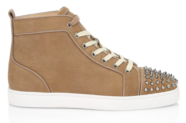 Christian-Louboutin-Louis-Spikes-High-Top-Sneaker