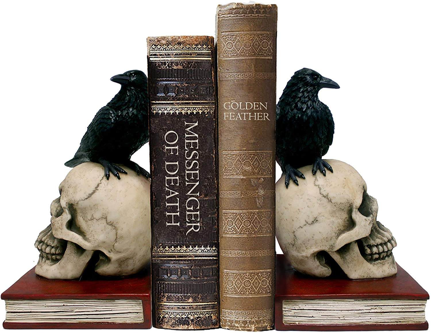 halloween decorations dwk murder mystery bookends