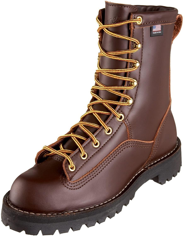 Danner Men's Rain Forest Boot in brown