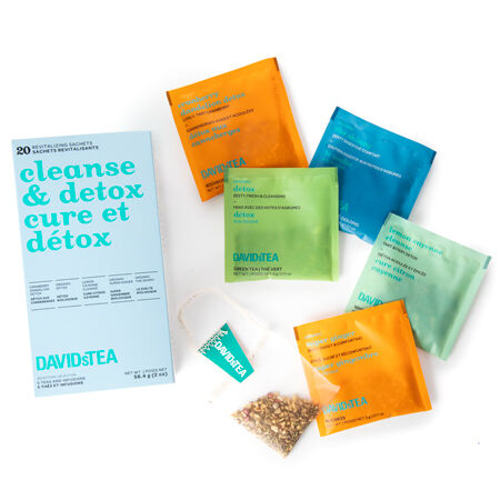 David's Tea Cleanse & Detox Variety Pack