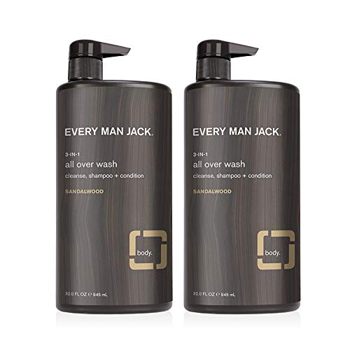 Every Man Jack All Over Wash in sandalwood