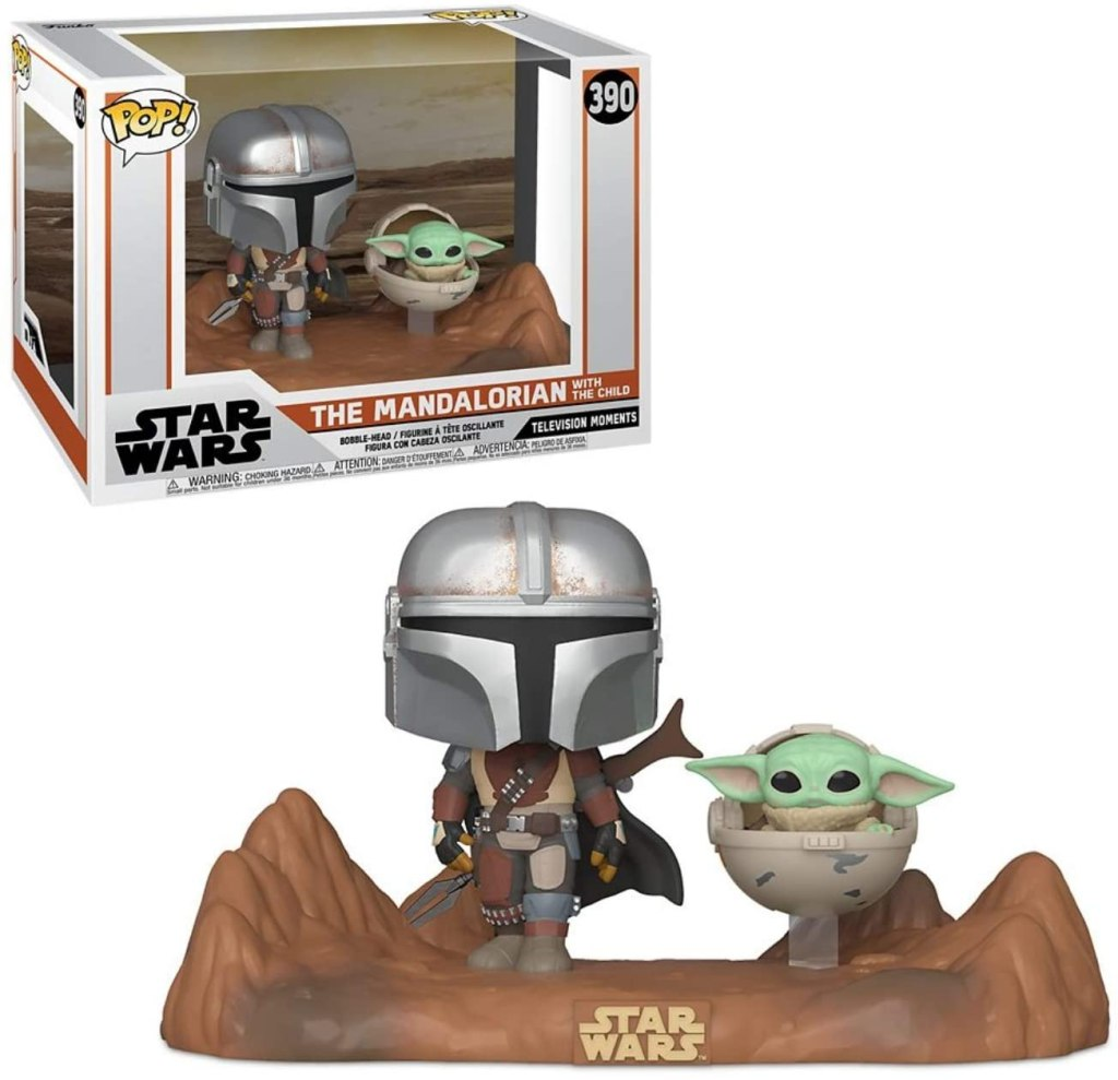 FUNKO POP! STAR WARS: THE MANDALORIAN AND CHILD