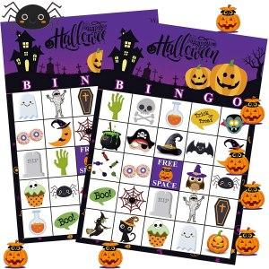Funnlot Halloween Bingo Game