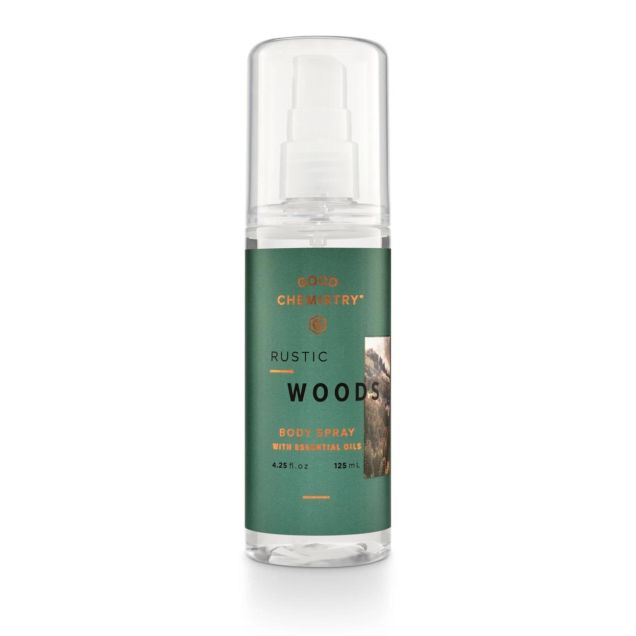 Good Chemistry Rustic Woods Body Spray