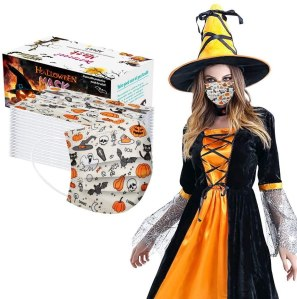 disposable Halloween face masks, disposable face masks, best Halloween face masks