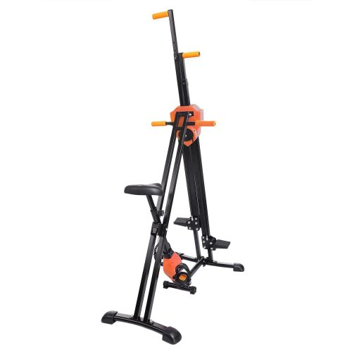 Hifashion 2-IN-1 Foldable Vertical Stair Stepper