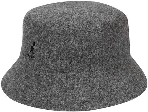 grey flannel kangol bucket hat