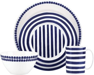 Kate Spade Charlotte Street North 4-Piece Dish Set, great gift for mom