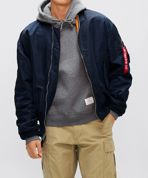 L-2B-LOOSE-BOMBER-JACKET from alpha industries