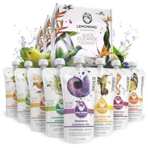 Lemonkind CORE immunity juice cleanse, best juice cleanses