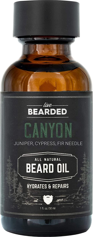 Live Bearded Canyon Beard Oil