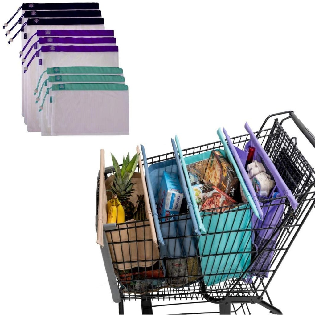 Lotus Trolley Bags and Produce Bags Bundle