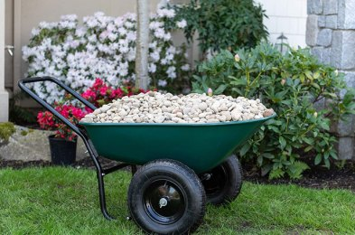 get more done with less back pain with a dependable wheelbarrow